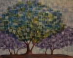 Blossoms in Violet Light